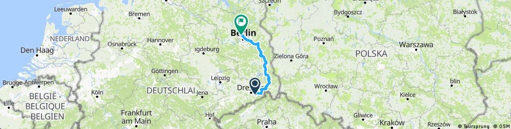 Von Pirna nach Berlin