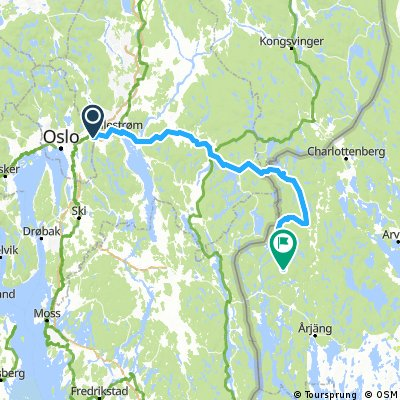 Ellingsrudåsen-Sandsjön125km