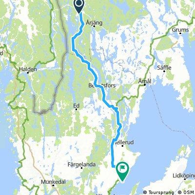 Grässjön-Vänern148km