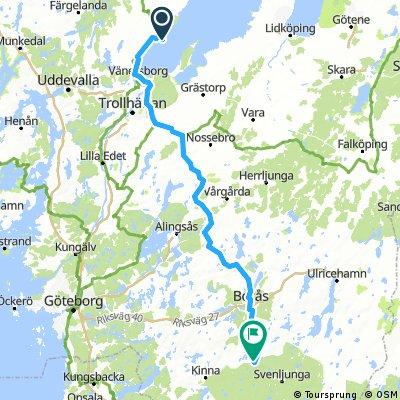 Vänern-Hagasjö155km