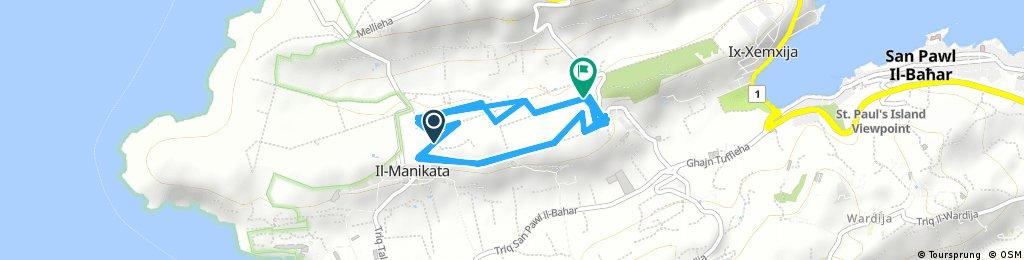 bike tour through Mellieha