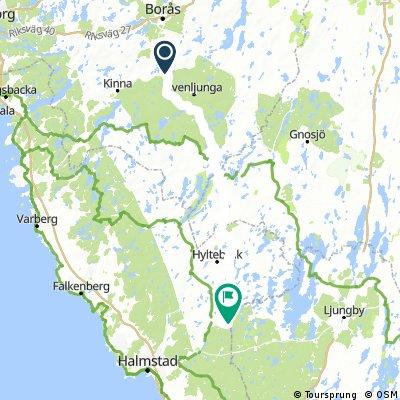 Hagasjö-Björkerocknen111km