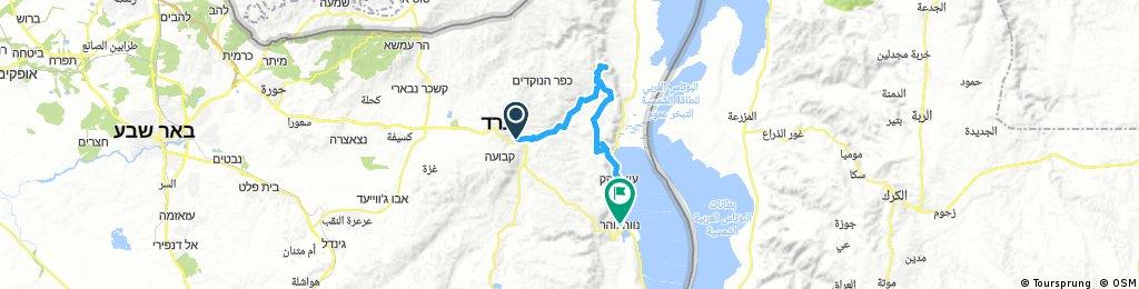 Arad to Masada and Neve Zohar