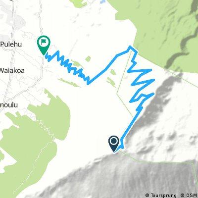 Mount Haleakala descent