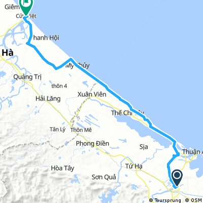 Hue - Dong Ha Beach