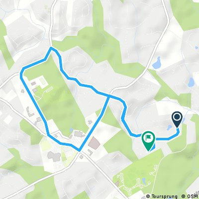 Golf Course Route