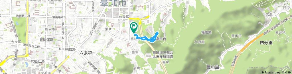 Short bike tour through Taipei City