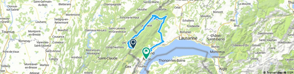 Vallée de Joux-Mollendruz-La Côte