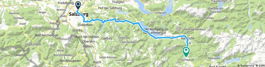 Dachstein Salzburg-Bad Goisern h/r- 128km