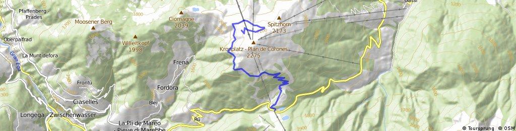 Cycling the Alps Kronplatz