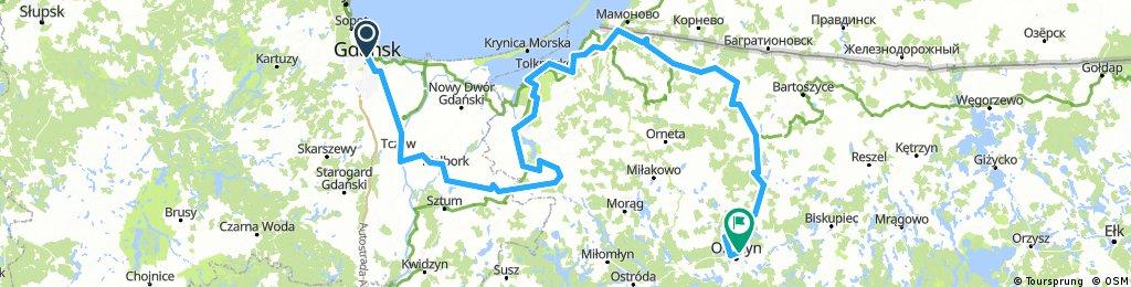 W8 Gdańsk-Olsztyn