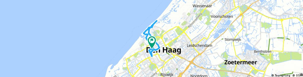 bike tour through The Hague