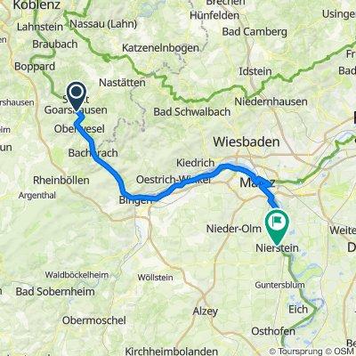 St. Goar - Mainz - Nierstein