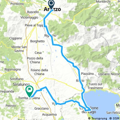 3 Arezzo  = Torrita di Siena