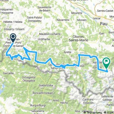 Grand pirineo tour francia +7000 m.