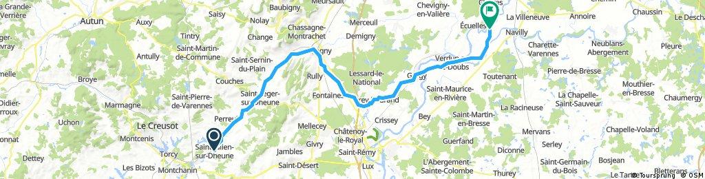 23 /  Saint Julien sur dheune / Charnay les chalon