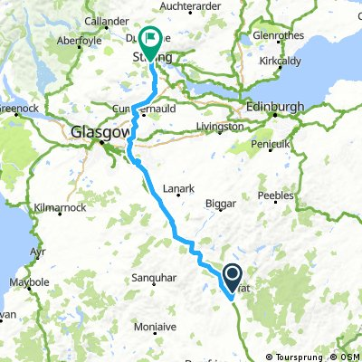 Moffat to Stirling