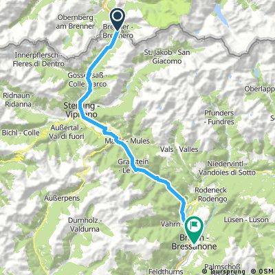 Dag 1: Brennero - Bressanone