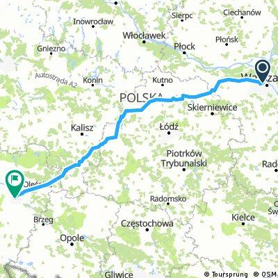 Warszawa - Uniejów - Wrocław