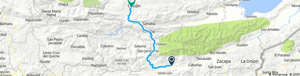 sarita coban 120kms