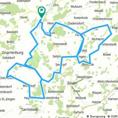 RTF A- Wertung 150 km - TSV Bremervörde