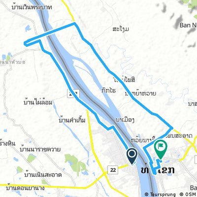 J037 – Samedi 11 février 2017  Nakhon Phanom (Thaïlande) – Thakhek (Laos)