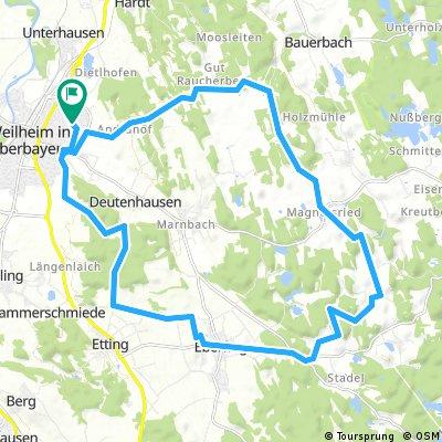Winterradrunde mit Schierli