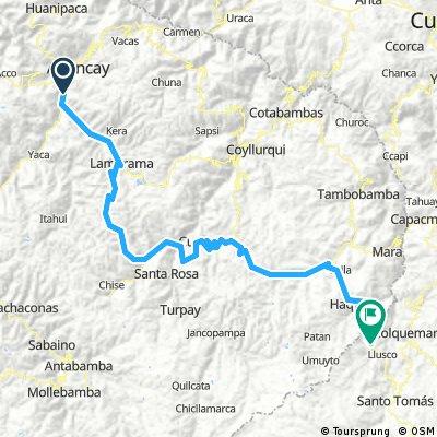 Abancay - Quiñota