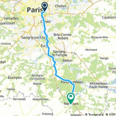 Vincennes - Nemours