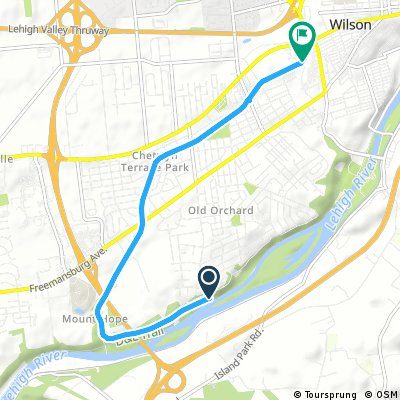 Palmer and Bethlehem Twp. Bike Trail