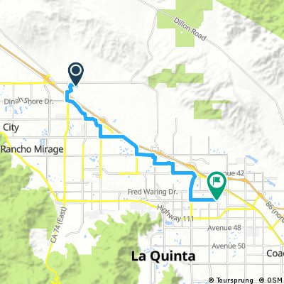 Cycling routes and bike maps in and around Indio | Bikemap ...
