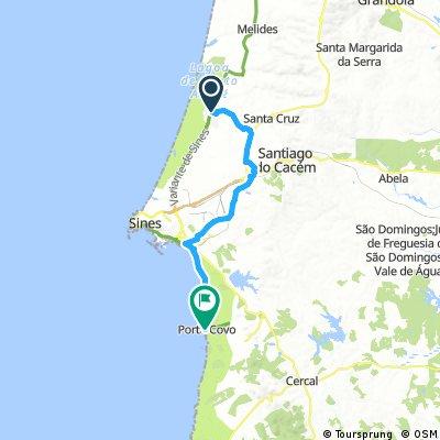 Santo André - Porto Côvo Road Bike
