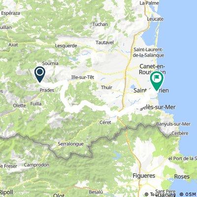 #Pyrenees 7 Molitg-les-Bains -  St.-Cyprien-Plage