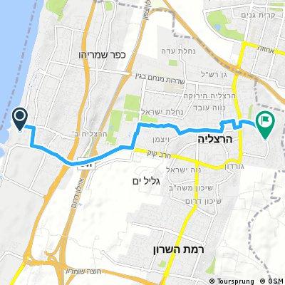 Quick bike tour through Herzliya