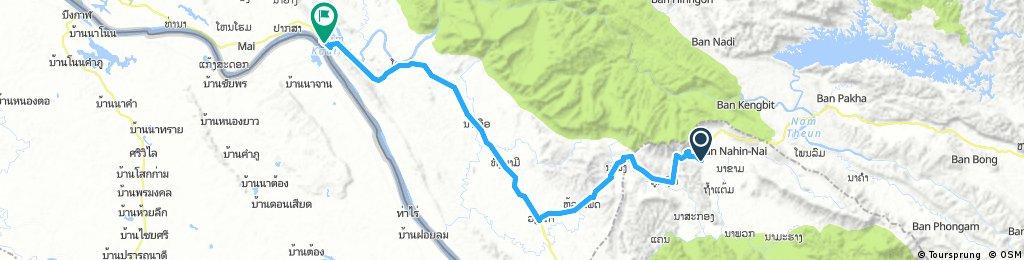 J041 – Mercredi 15 février 2017  Na Hin - Pakkading