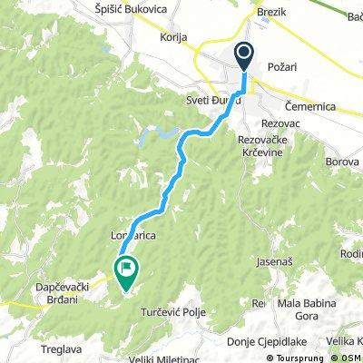 Ruta do Vile Bilogore u Maloj Dapčevici