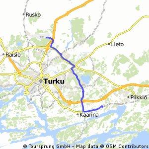 Ruissalo Bikemap Your bike routes