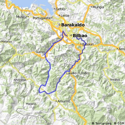 Cycling routes and bike maps in and around Bilbao Bikemap Your