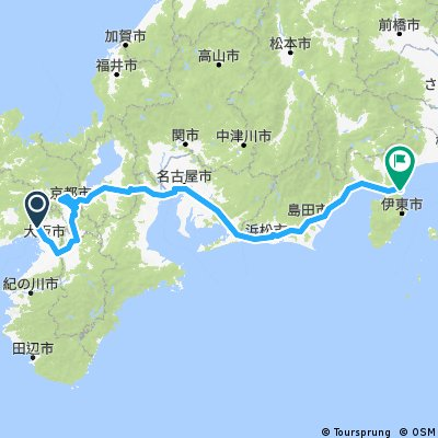 Giro del Giappone 2017 versione corta