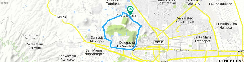 bike tour from 18/02/17 8:34 a.m.