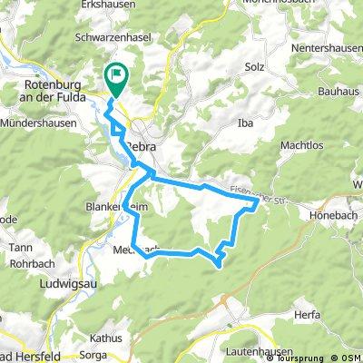 Lispenhausen - Meckbach - 6 Buchen - Ziehbach - Weiterode - Lispenhausen.gpx