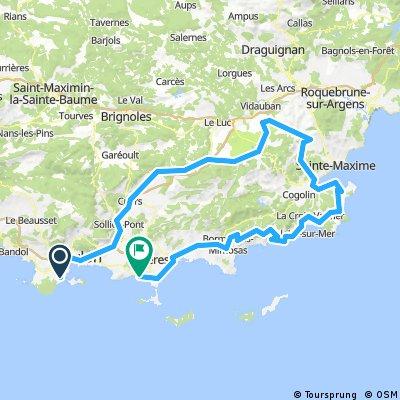 Plan de la Tour - St-Tropez - 10 Fév. 17