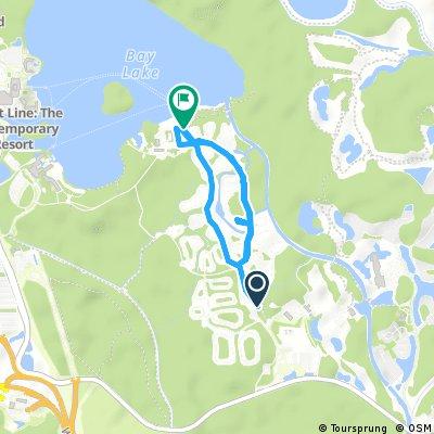 Quick bike tour through Bay Lake