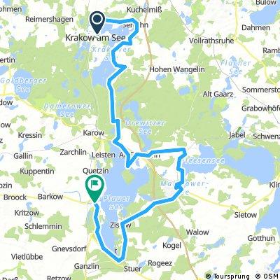 Rostock - Berlin 2. Etappe (74km)