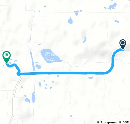 Brief ride from Hugo to White Bear