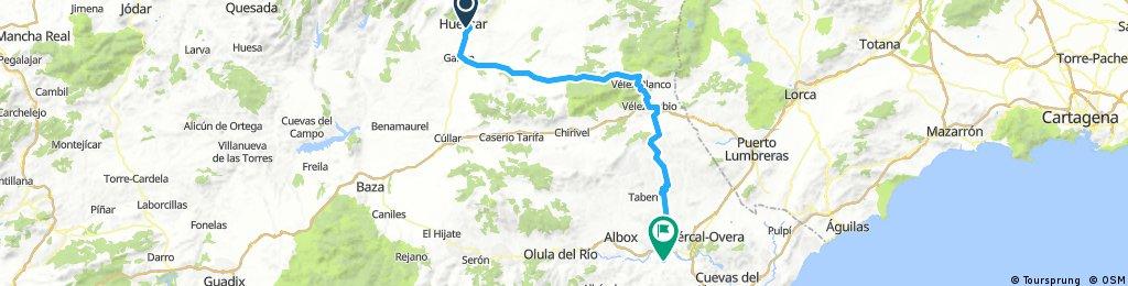 Huescar - Zurgena