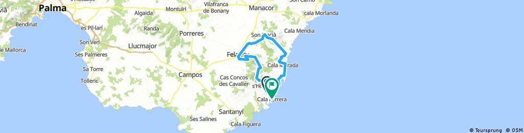 Mallorca Rundfahrt vom Robinson Club Cala Serena | Bikemap - Deine ...