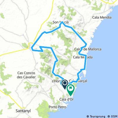 Mallorca Rundfahrt vom Robinson Club Cala Serena