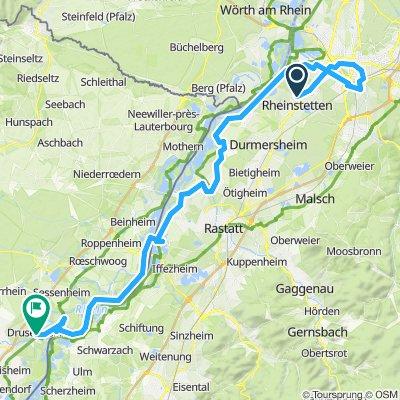 Rheinstetten - Drusenheim
