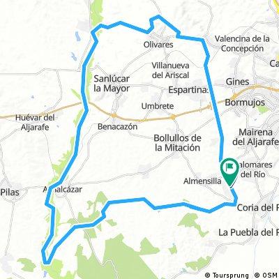 Circuito corredor verde Guadiamar-corredor Pudio